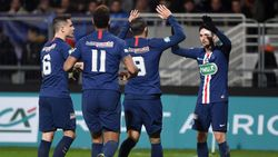 Hasil Piala Prancis: PSG Segel Satu Tempat di 8 Besar