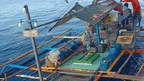 Illegal Fishing, Kapal Berbendera Filipina Diamankan di Laut Sulawesi