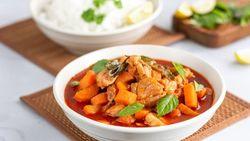 Masak Apa Hari Ini : Kare Ayam dan Jamur Goreng Tepung