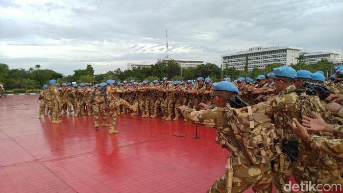 TNI berangkatkan pasukan untuk misi perdamaian PBB ke Kongo
