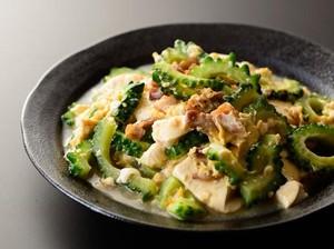 Resep Sayuran : Pare Tumis Tahu dan Ayam