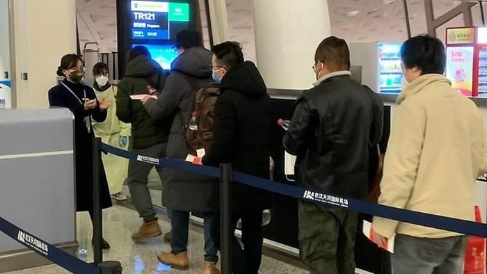 The Singaporeans returned home from Wuhan on Jan 30, 2020. (Photo: Ministry of Foreign Affairs)