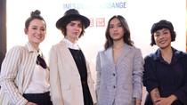 7 Gaya Parisian Chic Julie Estelle Pakai Uniqlo x Ines de la Fressange
