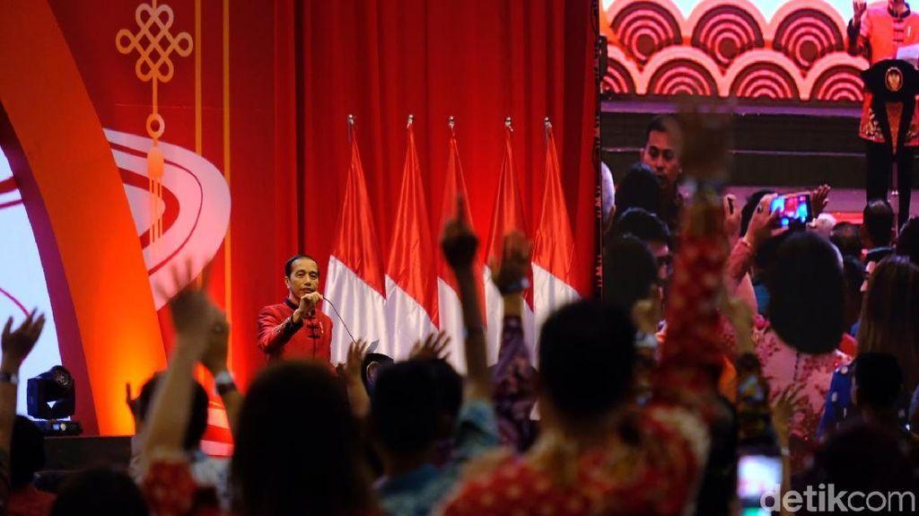 Jokowi: Tahun Tikus Logam Saya Harus Kerja Keras, Padahal Sudah Super