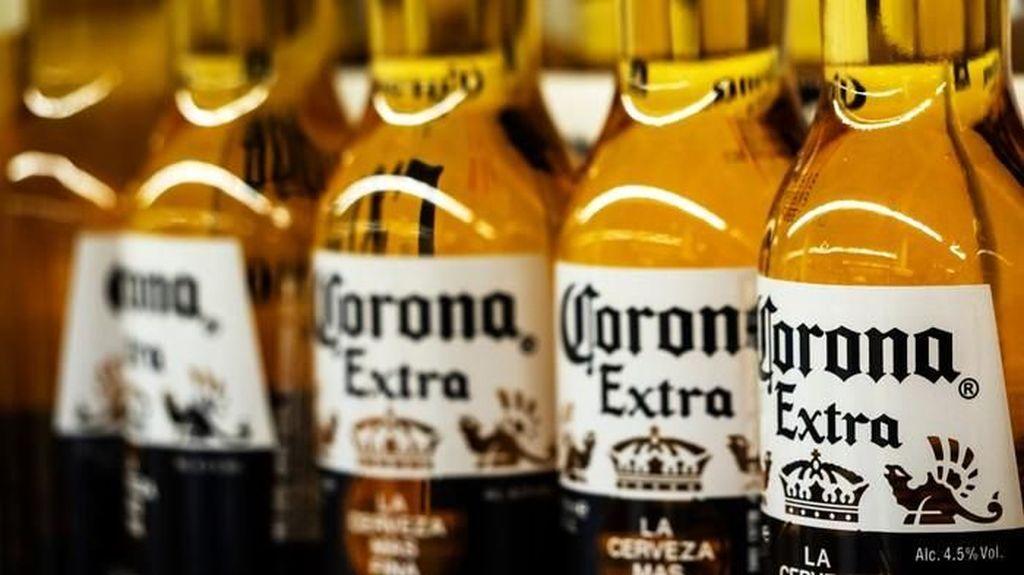 Pabrik Bir Corona Berhenti Produksi Gegara Virus Corona
