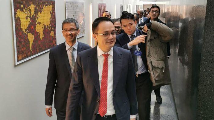 Wamendag Jerry Sambuaga kunjungan ke WTO di Jenewa Swiss