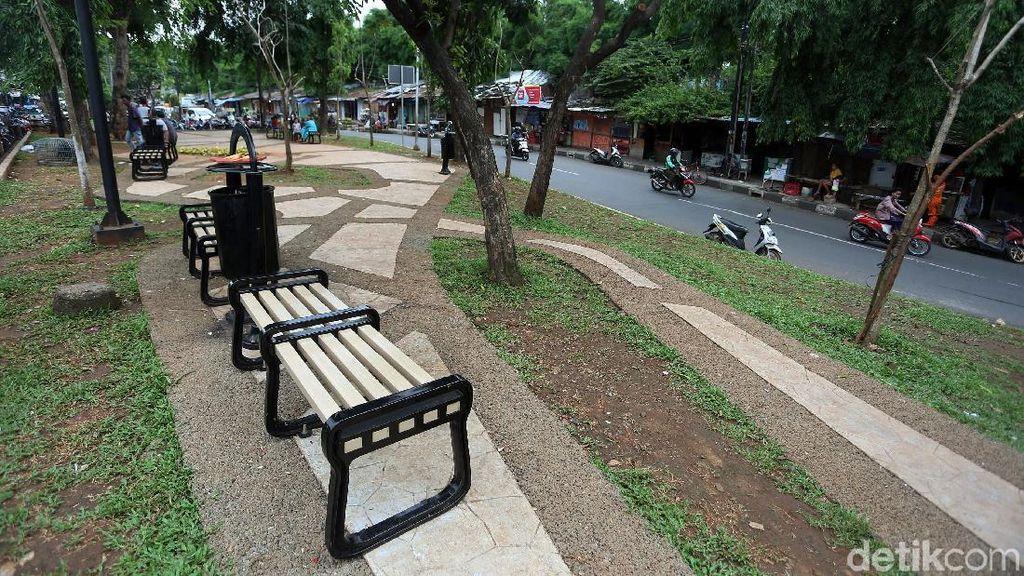 Penampakan Lahan Kosong di Manggarai yang Sulap Jadi RTH