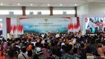 Presiden Bicara Potensi Konflik Dampak Tanah Belum Bersertifikat
