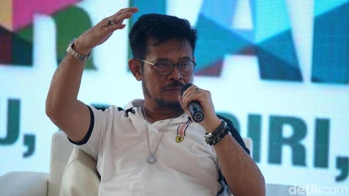 Menteri Pertanian (Mentan) Syahrul Yasin Limpo pastikan cadangan pangan Indonesia cukup hingga April 2020 mendatang. Untuk beras Kementan memastikan surplus.