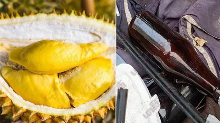 tragis setelah makan durian
