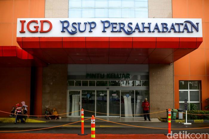RSUP Persahabatan jadi salah satu rumah sakit yang disiapkan untuk tangani pasien terinfeksi virus corona. Ruangan khusus pun disiapkan di rumah sakit tersebut.