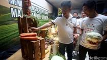 Mentan Optimis Cadangan Pangan Indonesia Melimpah