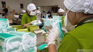 Pabrik Pembuat Masker Kebanjiran Order Akibat Virus Corona