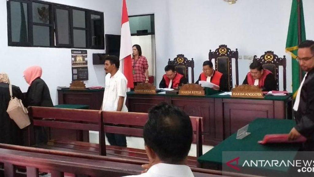 Perkosa 2 Anak Kandung, Ayah di Ambon Dihukum 16 Tahun Penjara