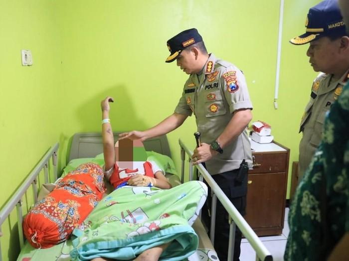 Polisi menyelidiki dugaan kekerasan yang dialami pelajar SMPN 16 Kota Malang. Korban akan menjalani visum.