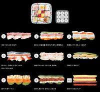 Sushi Roll Keberuntungan, Ukurannya Jumbo dengan Isian 9 Sushi Roll Mini!
