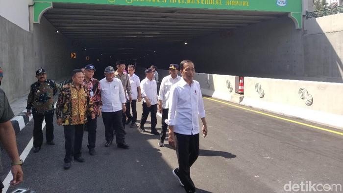 Jokowi resmikan underpass Bandara Internasional Yogyakarta