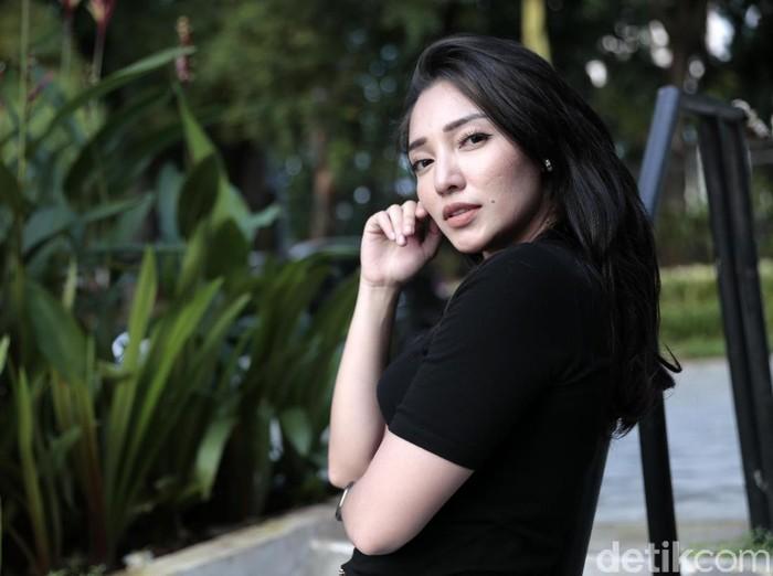 Manda Cello saat ditemui di Lapangan Tembak Senayan.