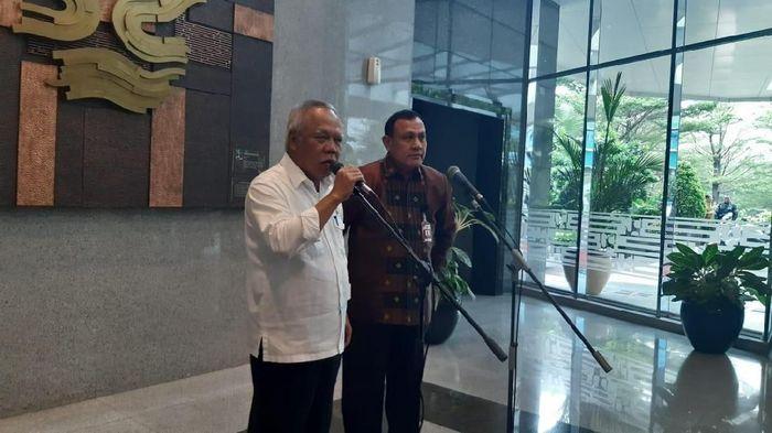 Menteri PUPR Bertemu dengan Ketua KPK