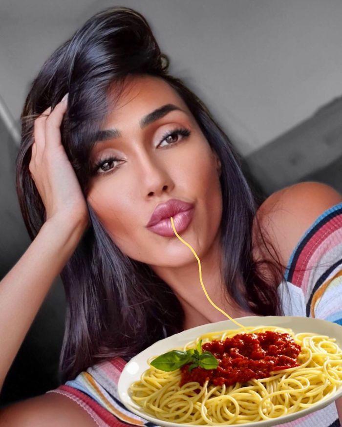 Duck Face Spaghetti