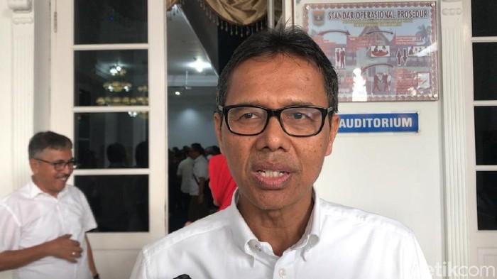 Gubernur Sumatera Barat (Sumbar), Irwan Prayitno (Jeka Kampai/detikcom)