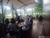 Area outdoor kafe.