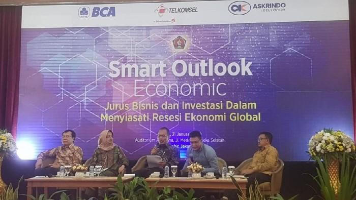 PWI menggelar Smart Outlook Economic dalam rangkaian Hari Pers Nasional 2020 (Dok. Istimewa)