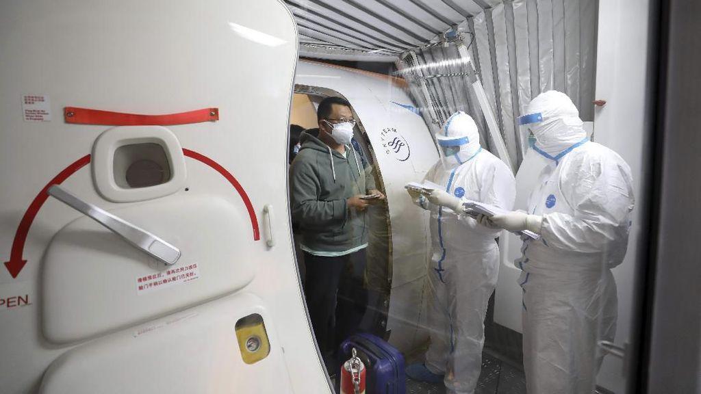 Korea Selatan Selesai Evakuasi 700 Warganya dari Wuhan Gegara Corona