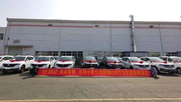 DFSK Sumbang Mobil untuk Tangani Corona