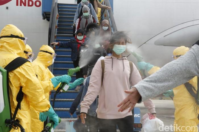 evakuasi WNI dari Wuhan