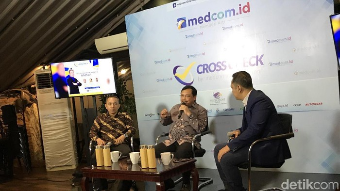 Diskusi 'SBY Bicara Jiwasraya Baper' (Foto: Rolando/detikcom)