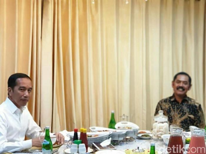 Jokowi ketemu FX Hadi Rudyatmo di Yogya