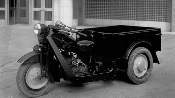 Mazda produksi motor roda tiga