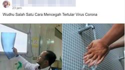Viral Virus Corona Disebut Bisa Dihancurkan dengan Air, Benarkah?