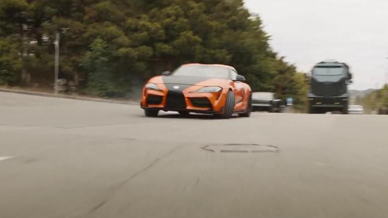 Toyota Supra di film Fast & Furious 9