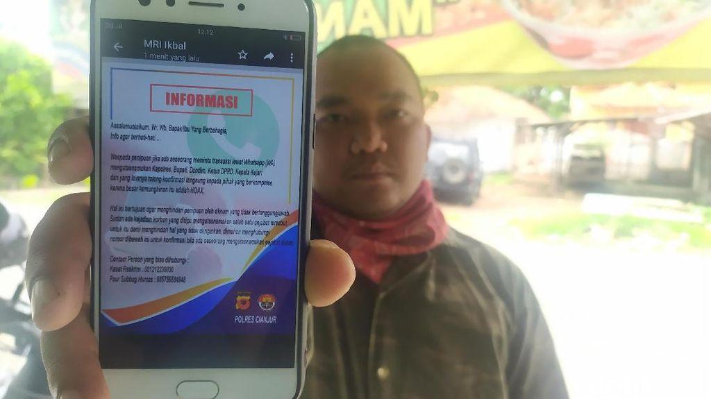 Catut Nama Kapolres,  Penipu Minta Uang ke Pengusaha dan PNS Cianjur
