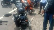 Tabrak Anak SD di Sanur Bali, Pengendara Harley-Davidson Patah Tangan