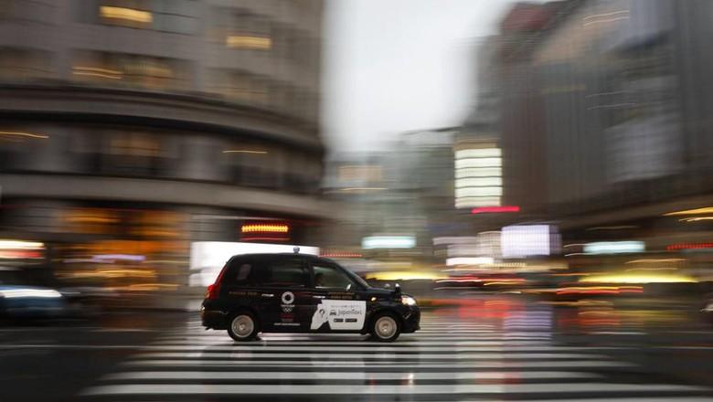 Supir Taksi Jepang