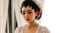 Gaya Isyana Sarasvati Berkebaya Putih Saat Menikah, Cantik Bikin Pangling