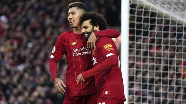 Liverpool butuh enam kemenangan untuk juara Liga Inggris musim ini.