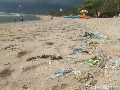 Soal Sampah Plastik di Kuta Bali, Ini Kata Kadispar