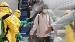 Jalani Tes Kesehatan 2 Kali Sehari, Kondisi WNI dari Wuhan di Natuna Sehat
