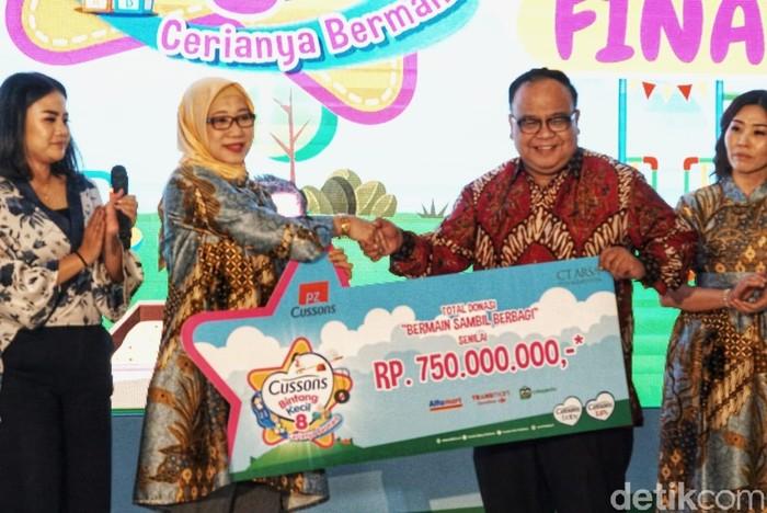 Grand Final Cussons Bintang Kecil 8 yang berlangsung di Main Atrium Mall Kota Kasablanka, di Jalan Casablanca, Tebet, Jakarta Selatan. (Dok Istimewa)