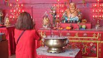 Euforia Kemeriahan Imlek di Pecinan Jakarta