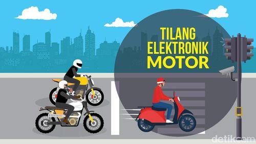 Tilang Elektronik Motor