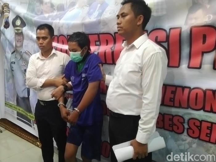 Perampokan dan pemerkosaan di Semarang, Senin (3/1/2020).