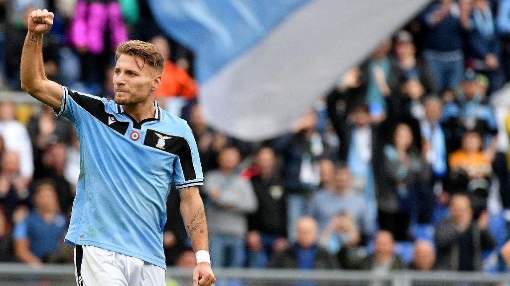 Lazio Doakan Ciro Immobile Menangi Sepatu Emas Eropa