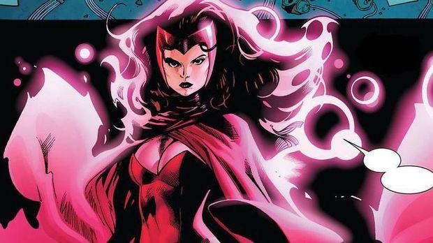 Scarlet Witch di komik.