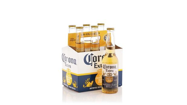 Bir corona dari Meksiko