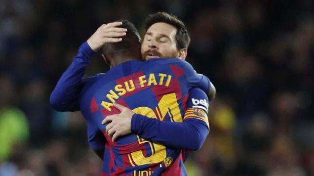 Pemain Barcelona Bertengkar di Sesi Latihan
